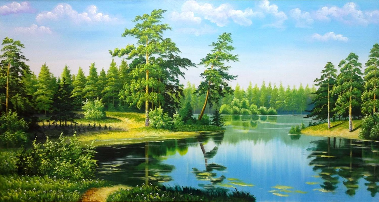 tranh phong cảnh | Hải Đăng Galery: tranhdephaidang.com/san-pham/tranh-phong-canh-27